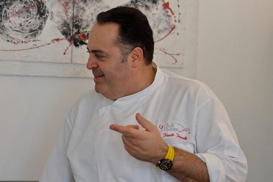 Chef Fausto Ferrante, Ristorante Da Fausto - Fondi (LT)