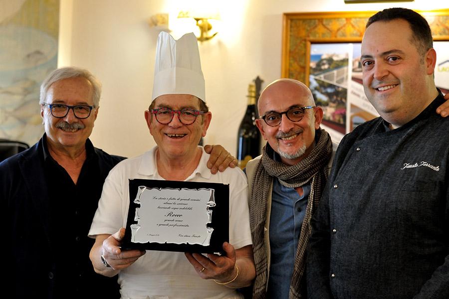 Concluso con un successo clamoroso l'evento con due generazioni di Chef
