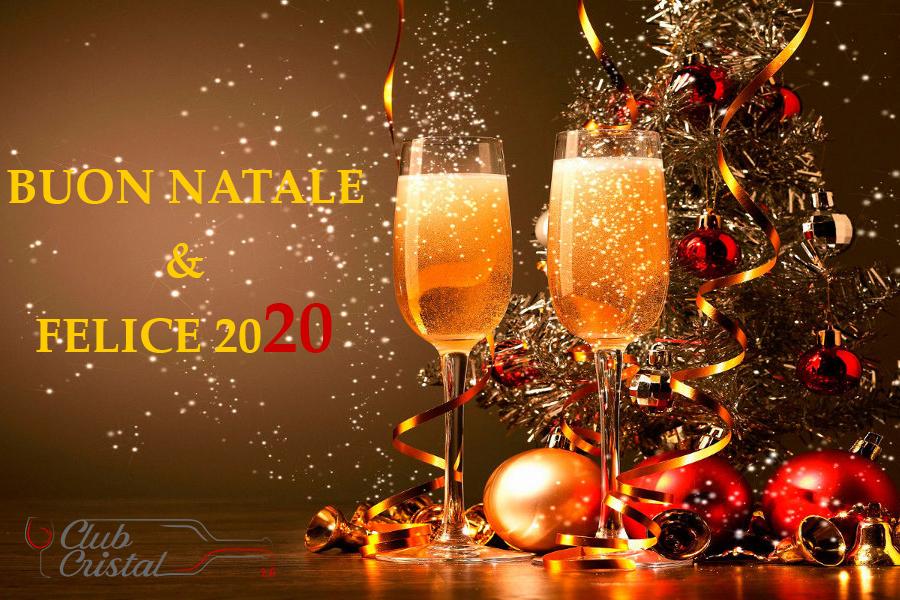 Auguri di Buone Feste dal vostro Club Cristal 2.0